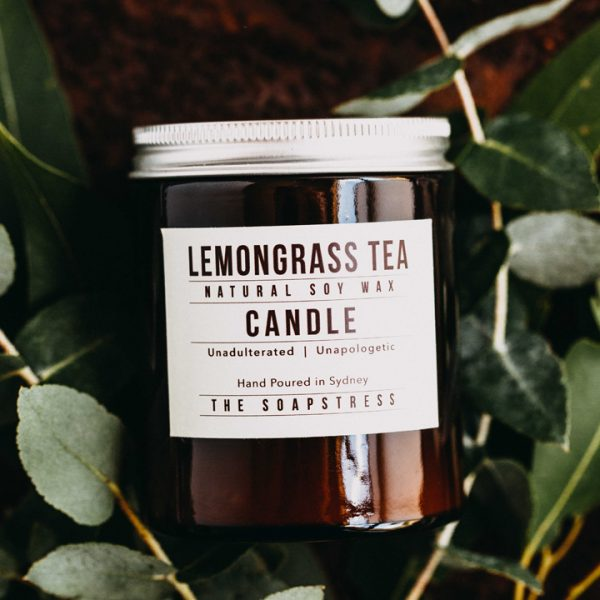 Candle Lemongrass Tea