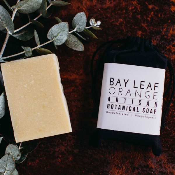 Botanical Bar Soap - Bay Leaf & Orange