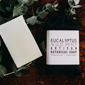 Botanical Bar Soap - Eucalyptus Wild Mint