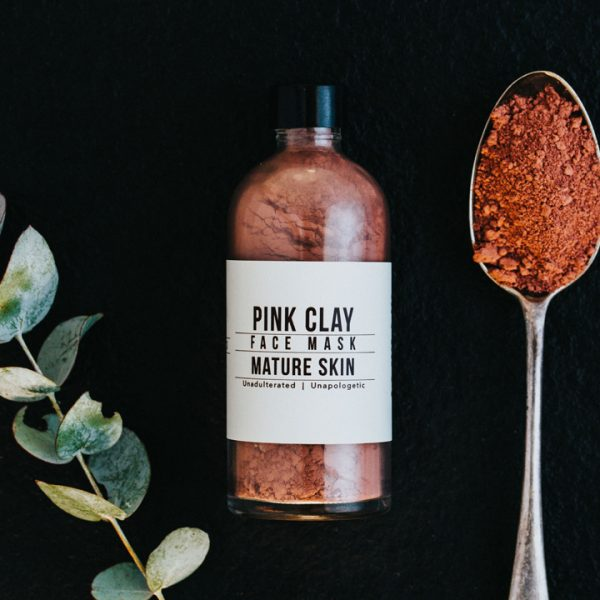 Pink Clay Face Mask,