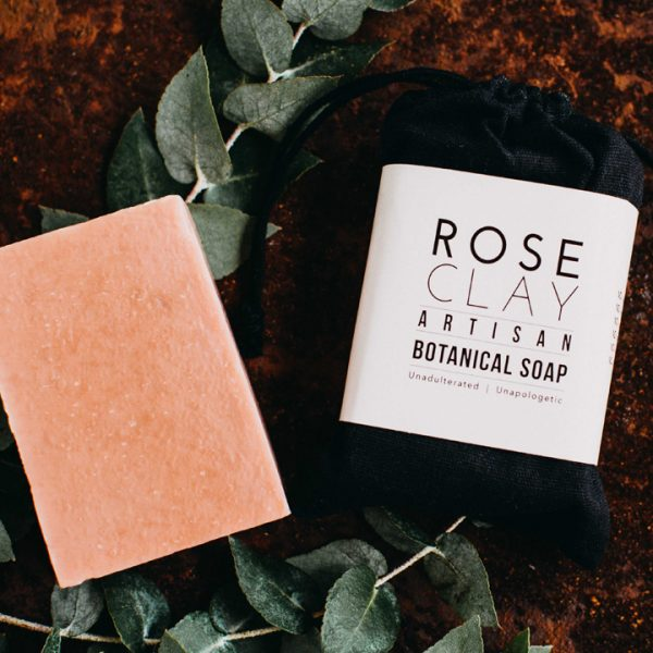 Botanical Bar Soap - Rose Clay