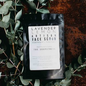 Face Scrub - Lavender Lemon